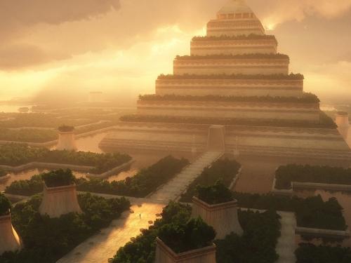 20 самых оригинальных подарков всех времен и народов - Висячие сады Семирамиды