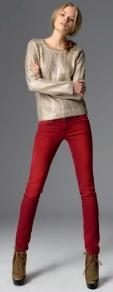 Джинсовая мода осень 2013