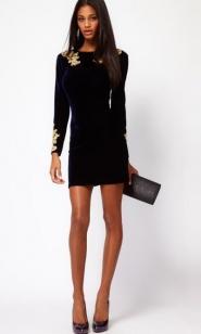 Как выбрать черное платье и с чем его носить?