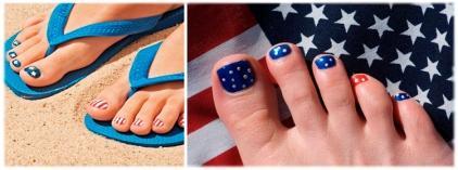 Педикюр: модные ноготки лета-2012