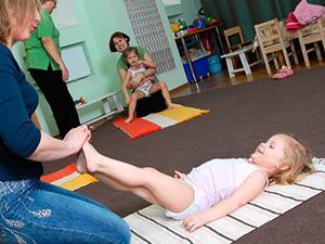 Полезная гимнастика для ребенка