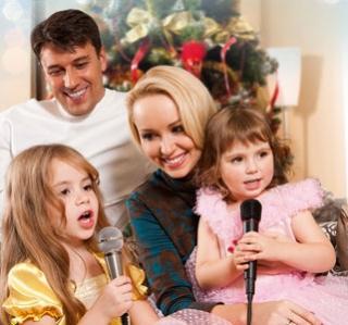 Встречаем Новый Год дома в кругу семьи