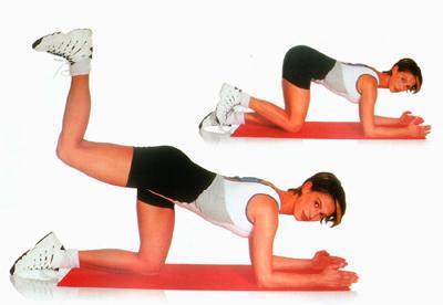 Упражнения для ягодиц против целлюлита