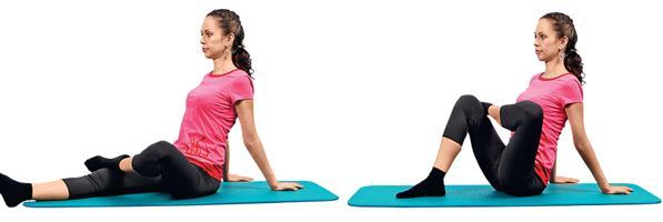 Упражнения для ног и бедер против целлюлита