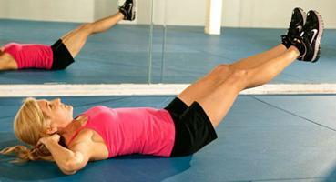 Упражнения для живота против целлюлита