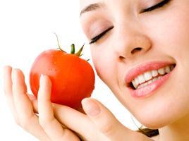 Маска из помидоров