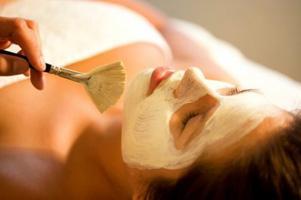 Творожная маска для раздраженной кожи