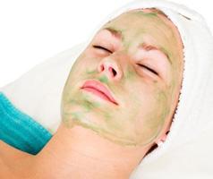 Маска для сухой кожи лица из петрушки