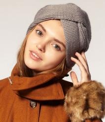 Модные головные уборы осень 2013