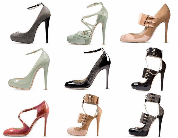 Женские туфли 2012