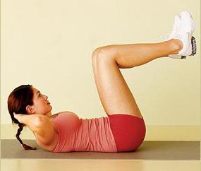 Эффективные упражнения для нижнего пресса