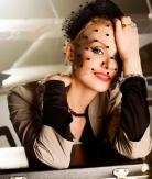 Рената Литвинова и ретро стиль