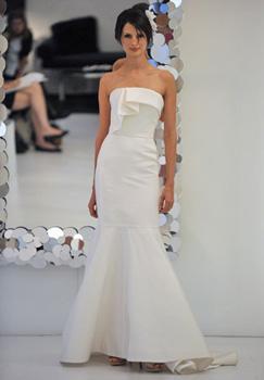 Свадебная мода 2011 - минимализм