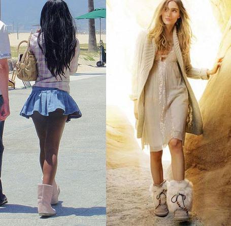 Зимняя мода 2012: угги