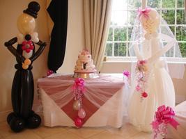 Незабываемая свадьба: украшение зала шарами