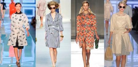 Весенняя мода 2012: верхняя одежда