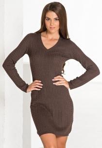 Модные повседневные платья осень 2013