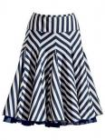 Деловая юбка-клеш