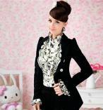 Блузка с жакетом