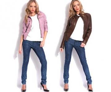 С чем носить кожаные куртки?