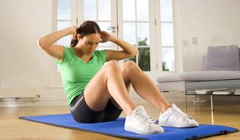Упражнения для мышц брюшного пресса: правила выполнения, видео