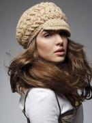 Что надеть зимой - модная шапка