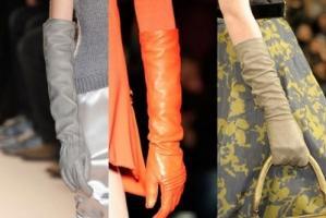 Что надеть зимой - модные перчатки