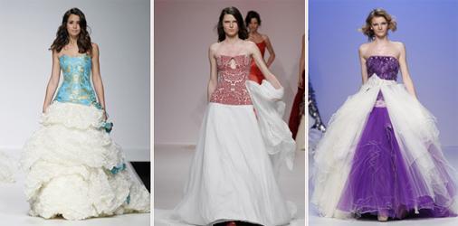 Европейская свадебная мода 2012