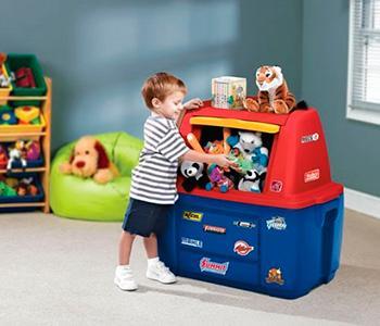 Как научить ребенка собирать игрушки