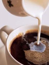 Маска из кофе с молоком