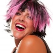 Розовый цвет волос