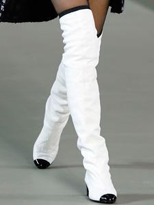 Зимняя мода 2012: ботфорты