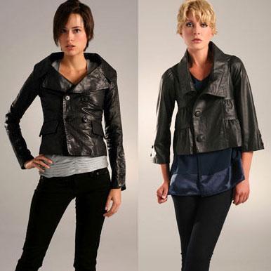 Модные куртки 2012 - Укороченный рукав