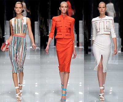 Модные юбки 2011 - цвет