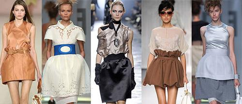 Модные юбки 2011 - форма