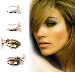 Модный макияж 2011 - smoky eyes