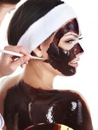 Питательная маска для лица из шоколада