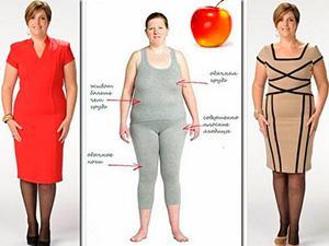 Стиль и мода для фигуры яблоко