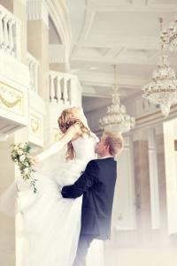 Фотографии во дворце бракосочетаний