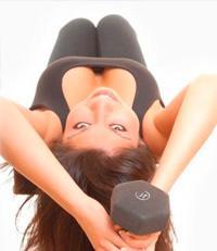 Упражнения для мышц спины с гантелями